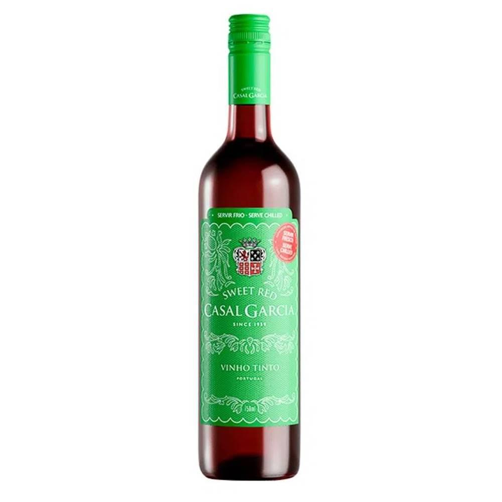 Kit 03 Unidades Vinho Casal Garcia Tinto Suave 750ml