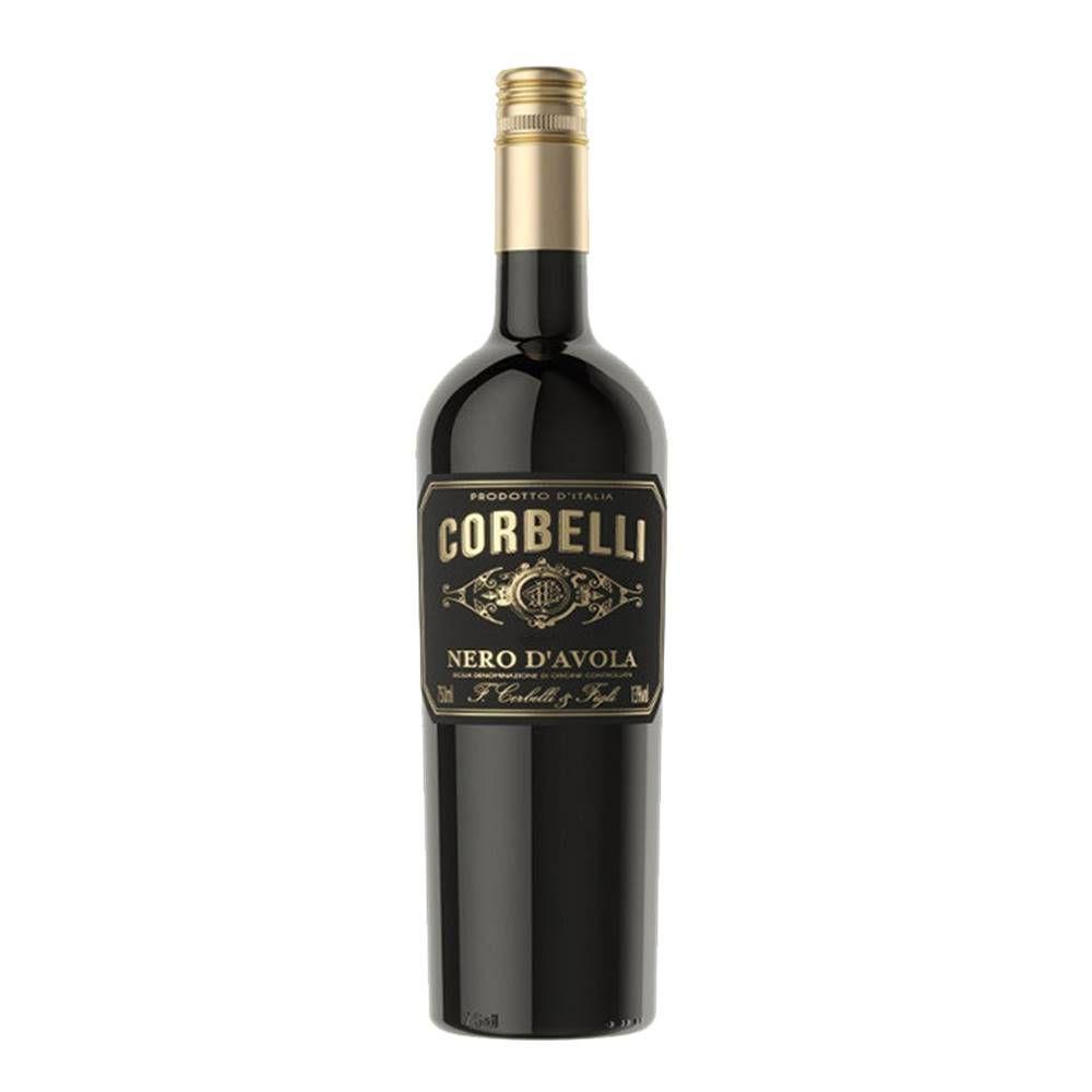 Kit 03 Unidades Vinho Corbelli Nero D Avola DOC 750ml
