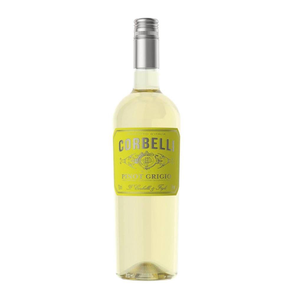 Kit 03 Unidades Vinho Corbelli Pinot Grigio 750ml