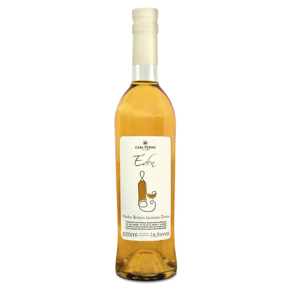 Kit 03 Unidades Vinho Licoroso Casa Perini Éden 500ml