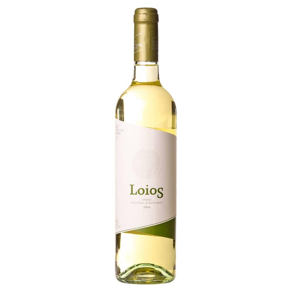 Kit 03 Unidades Vinho Loios Branco 750ml