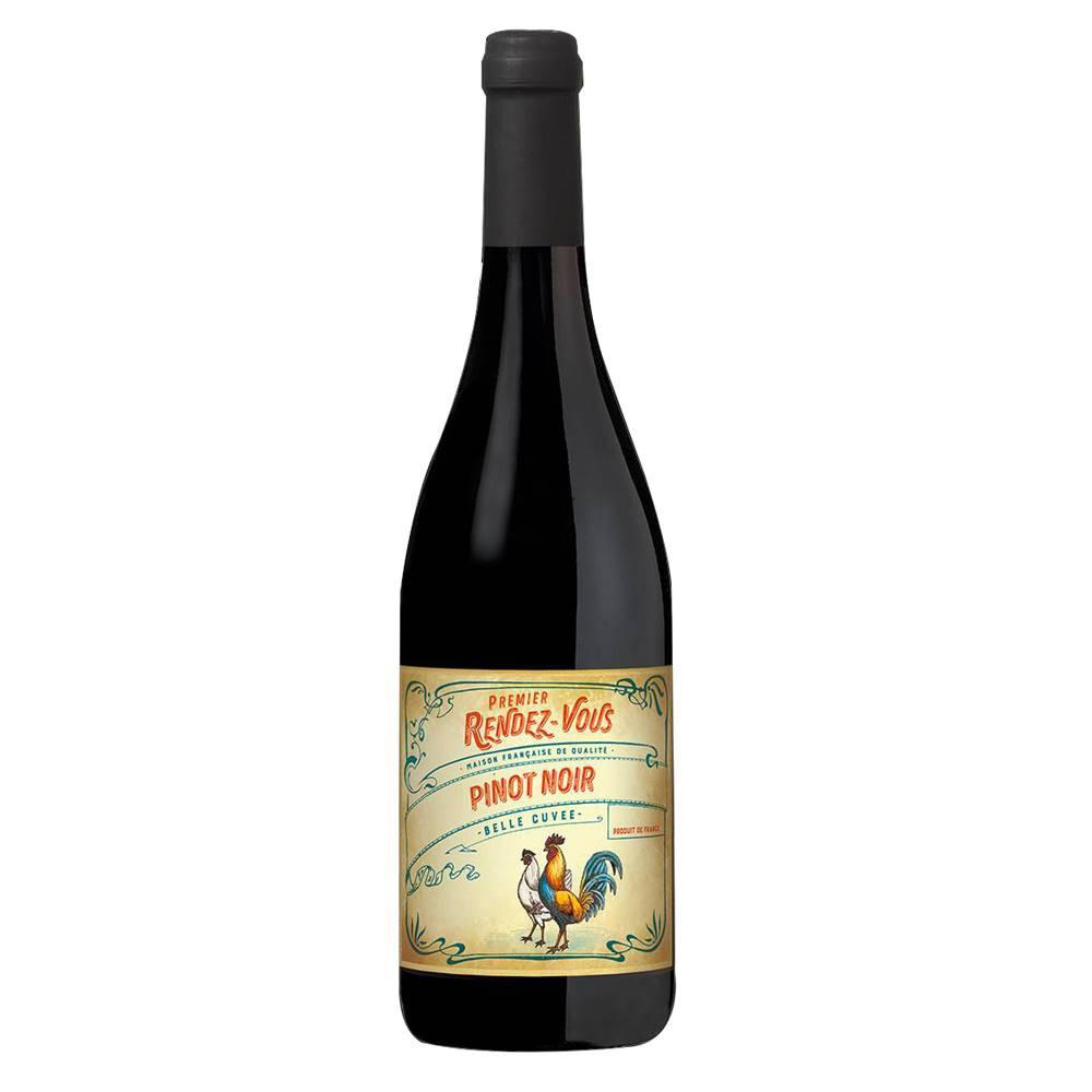 Kit 03 Unidades Vinho Premier Rendez-Vous Pinot Noir 750ml