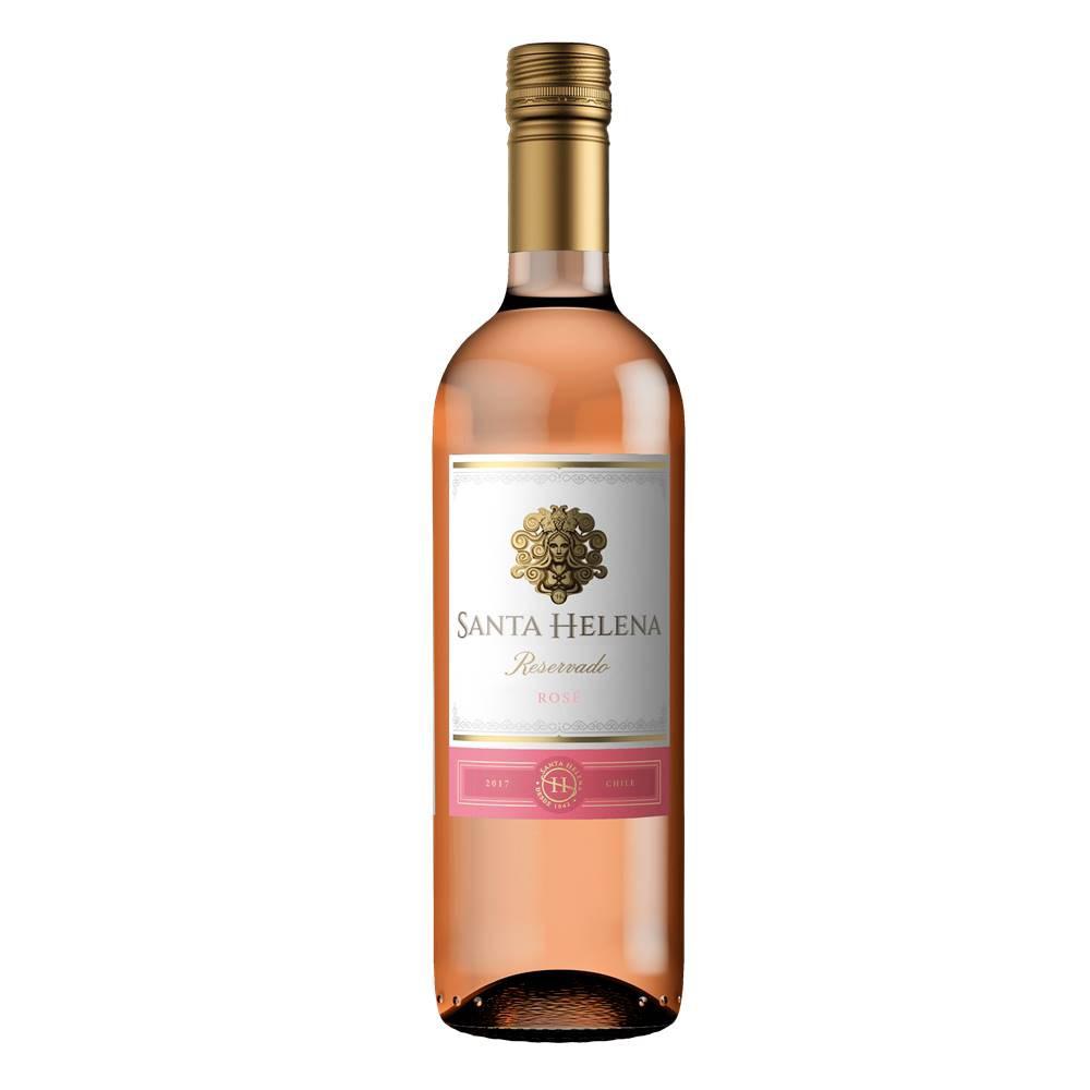 Kit 03 Unidades Vinho Santa Helena Reservado Rosé 750ml