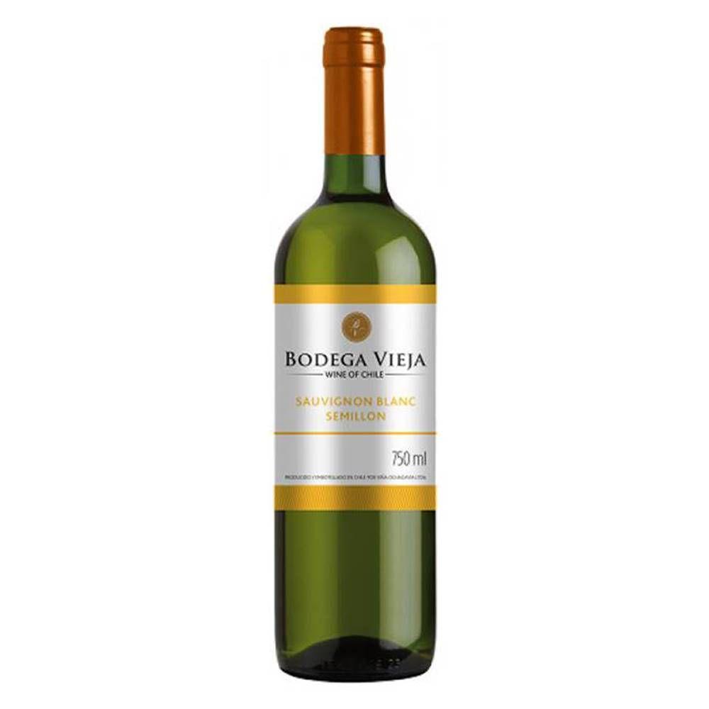Kit 06 Un. Vinho Bodega Vieja Sauvignon Blanc Semillon 750ml