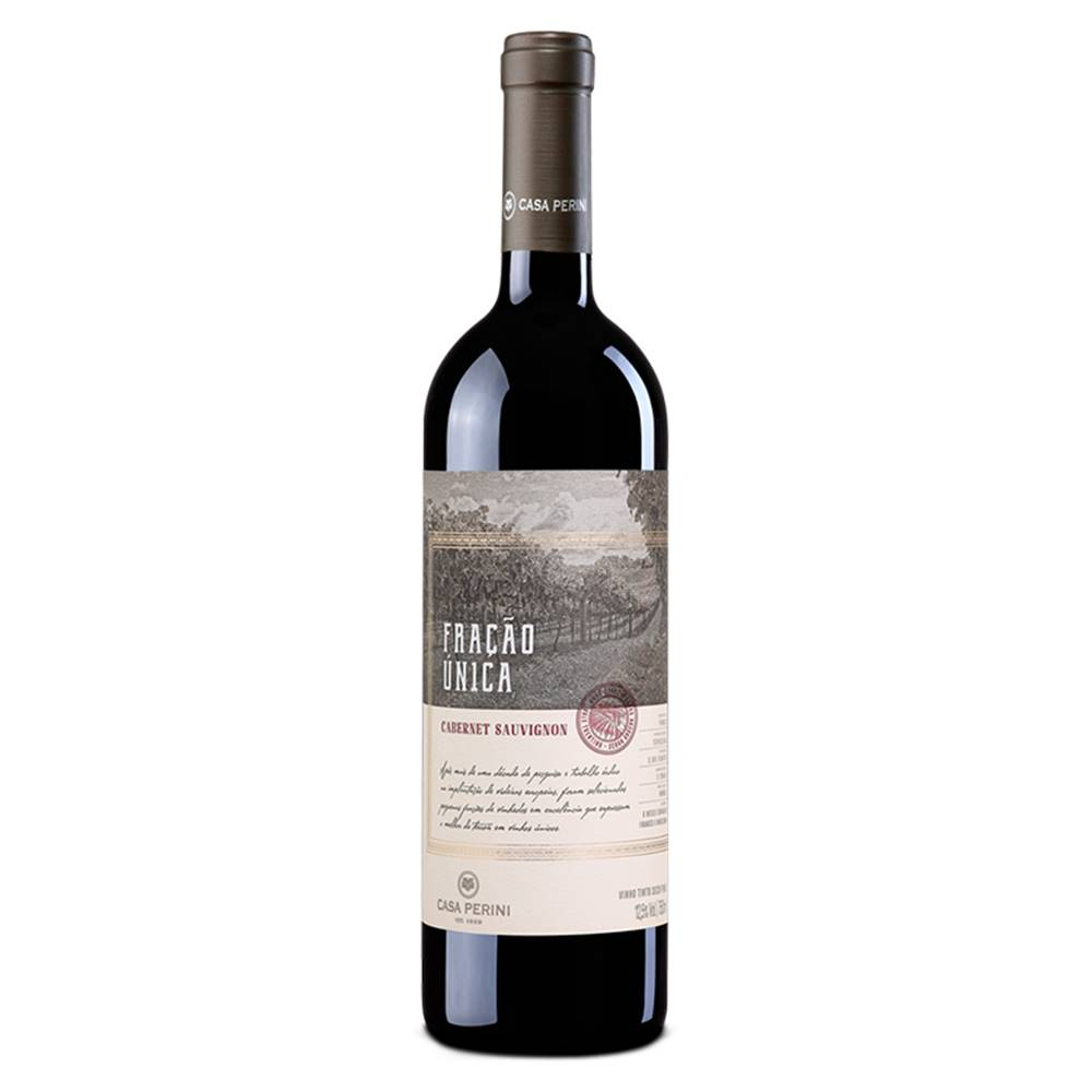 Kit 06 Un. Vinho Casa Perini Fração Única Caber. Sauv. 750ml