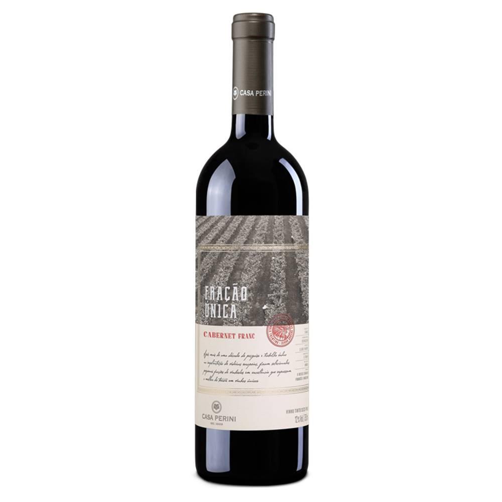Kit 06 Un. Vinho Casa Perini Fração Única Caber. Franc 750ml