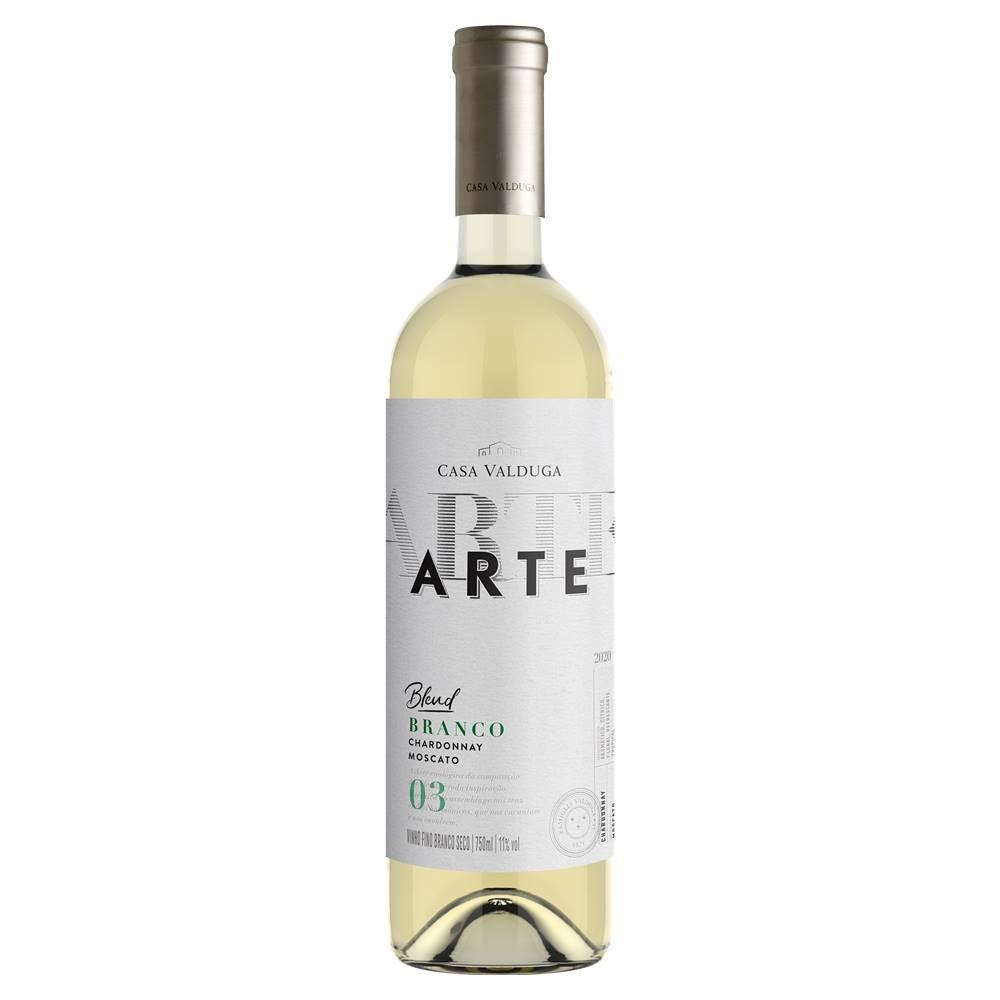Kit 06 Un Vinho Casa Valduga Arte Chardonnay e Moscato 750ml