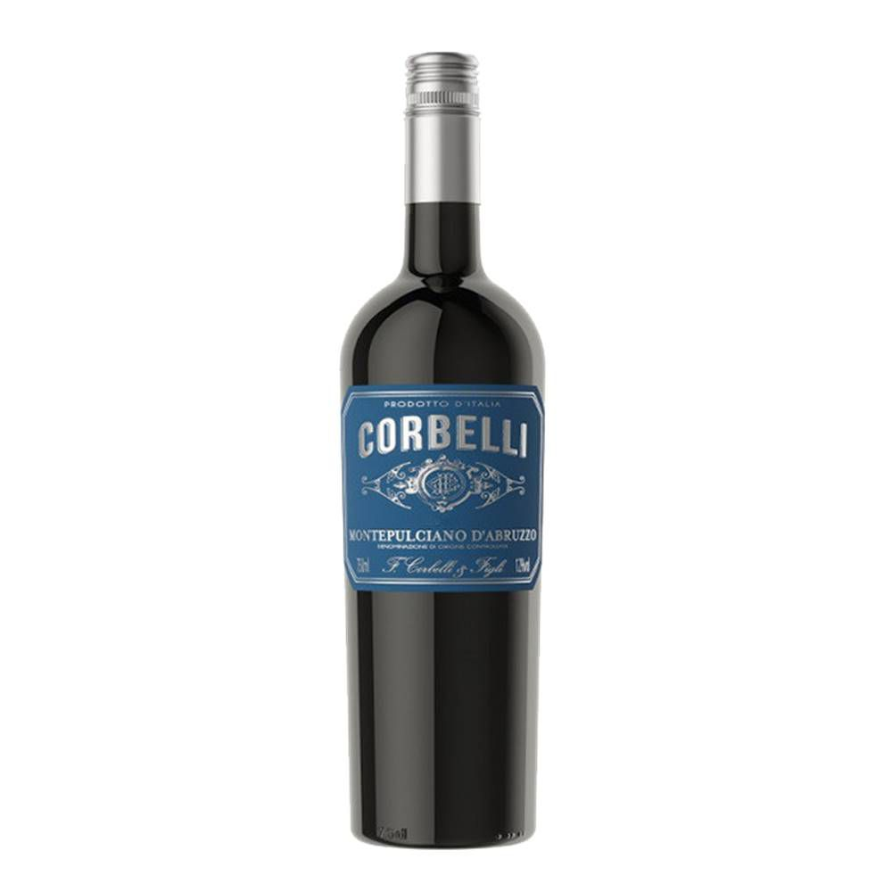 Kit 06 Un. Vinho Corbelli Montepulciano D Abruzzo DOC 750ml