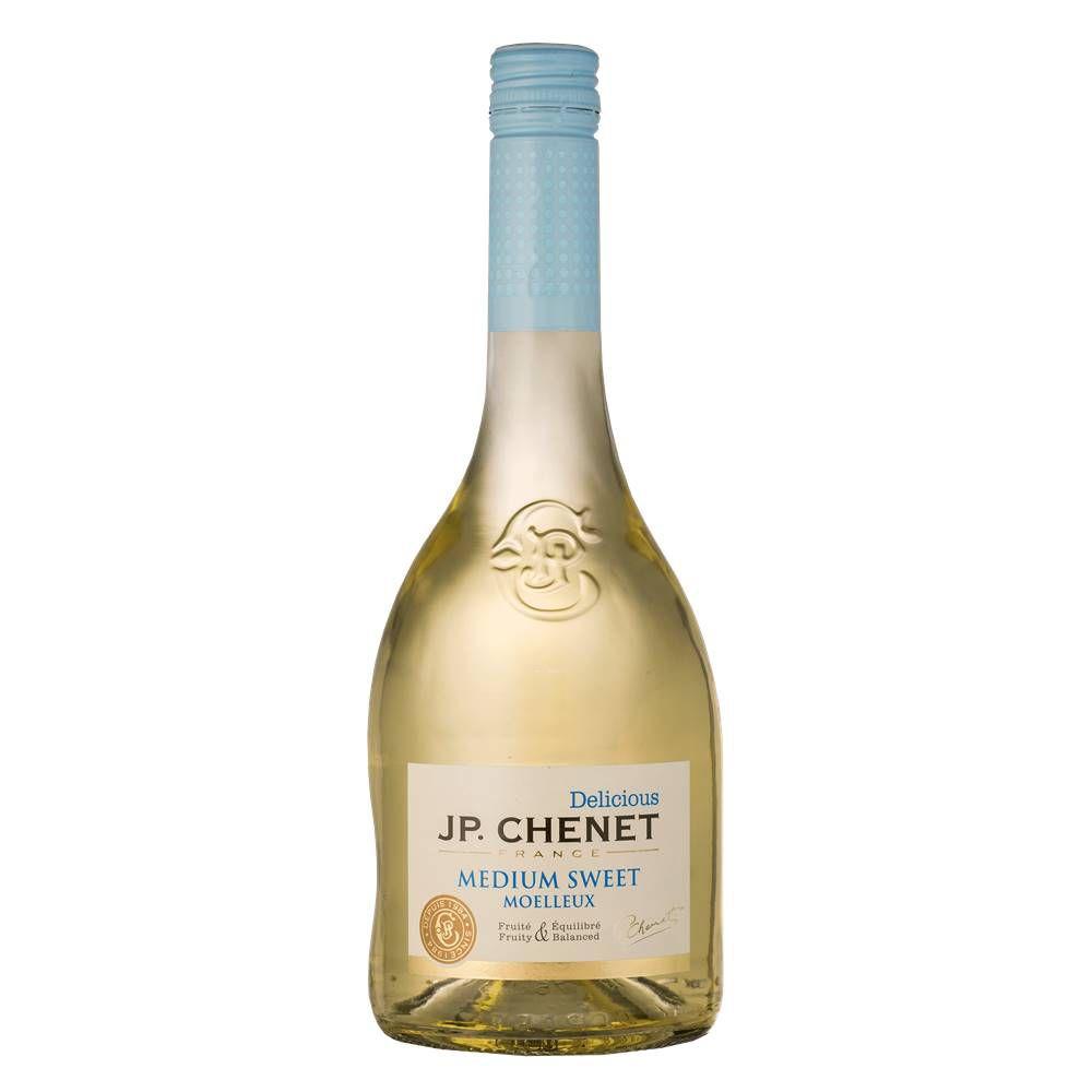 Kit 06 Un. Vinho JP Chenet Delicious Branco Suave IGP 750ml