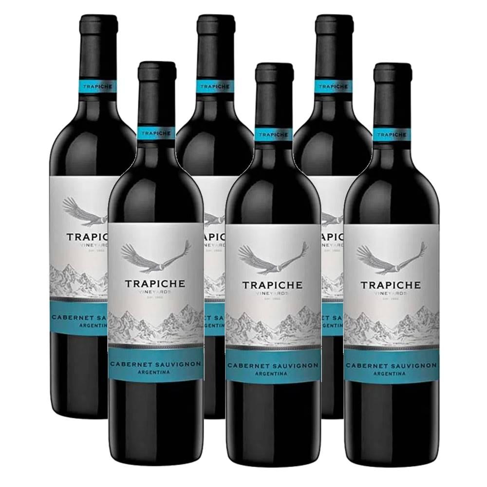 Kit 06 Un. Vinho Trapiche Vineyards Cabernet Sauvignon