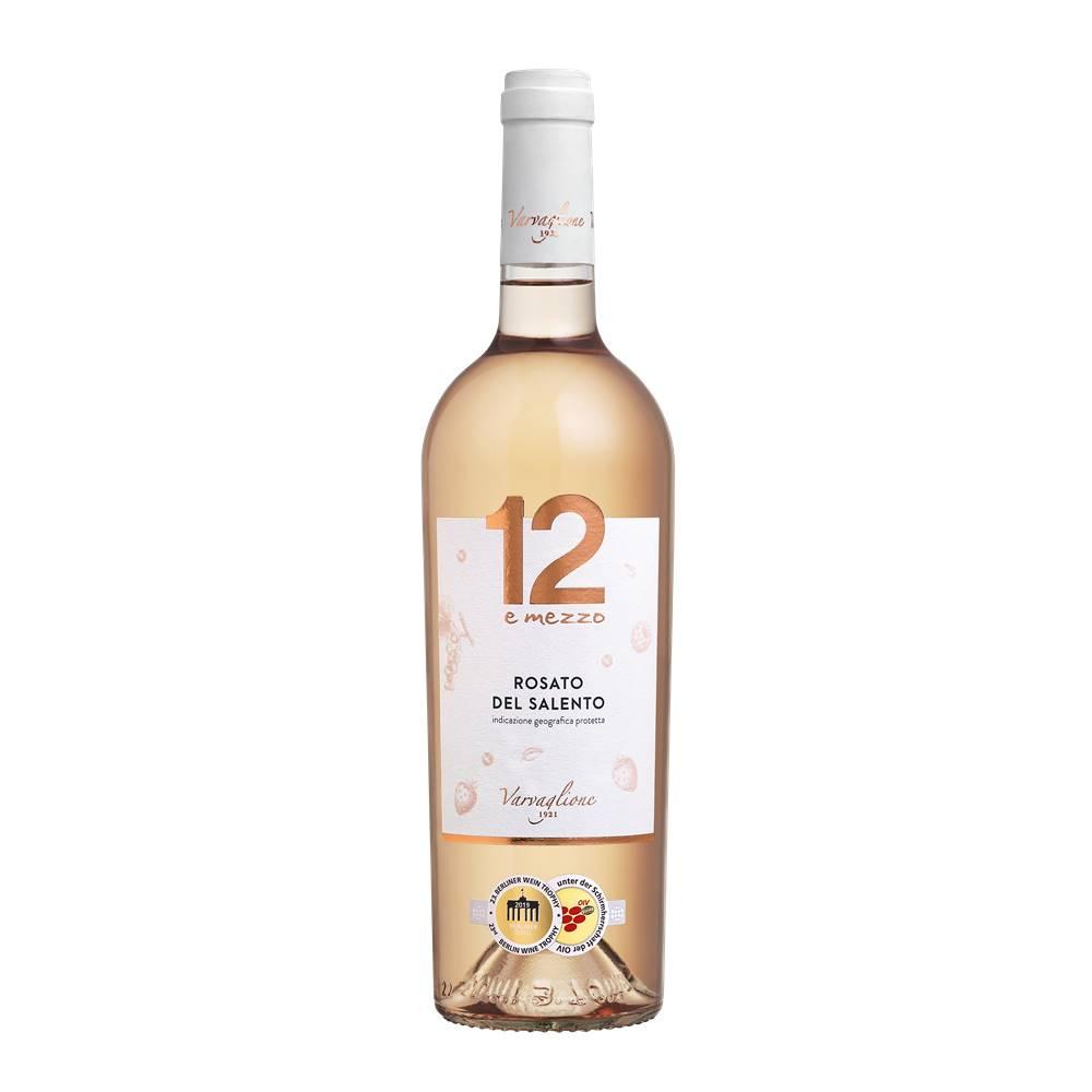 Kit 06 Unid. Vinho 12 e Mezzo Rosato del Salento IGP 750ml