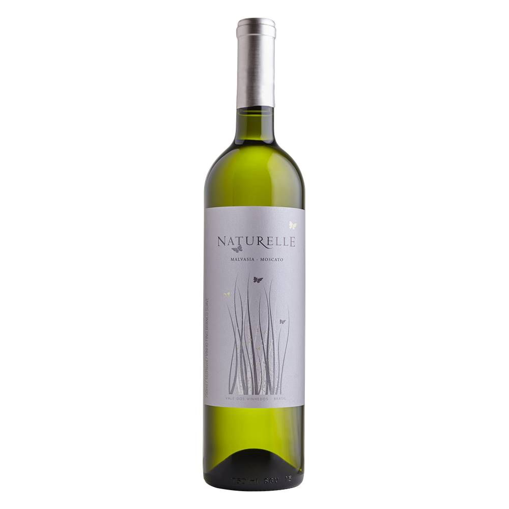 Kit 06 Unid. Vinho Casa Valduga Naturelle Branco Suave 750ml