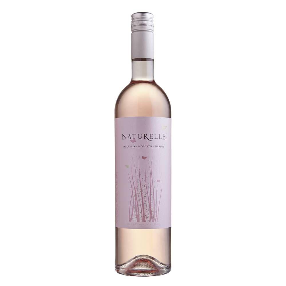 Kit 06 Unid. Vinho Casa Valduga Naturelle Rosé Suave 750ml