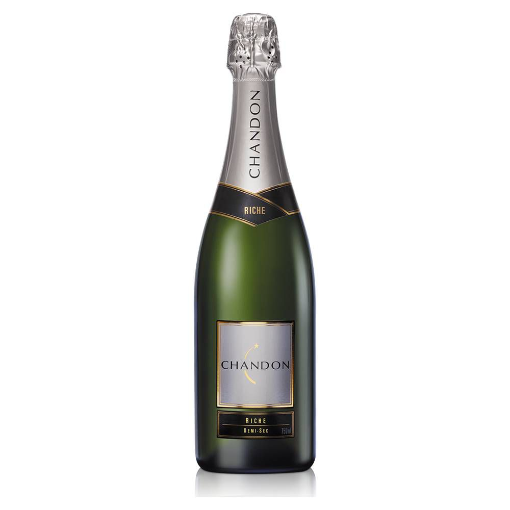 Kit 06 Unidades Espumante Chandon Riche Demi-Sec 750ml