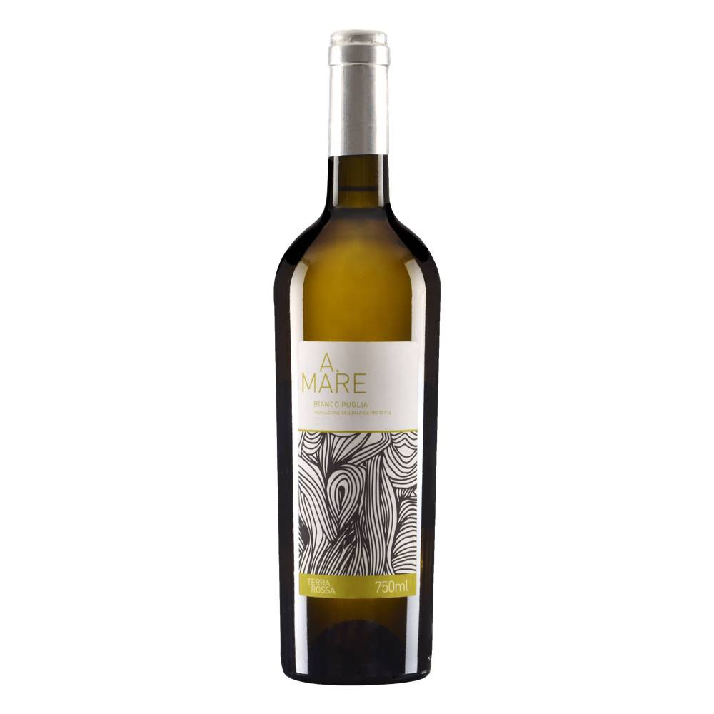 Kit 06 Unidades Vinho A. Mare Branco Puglia IGP 750ml