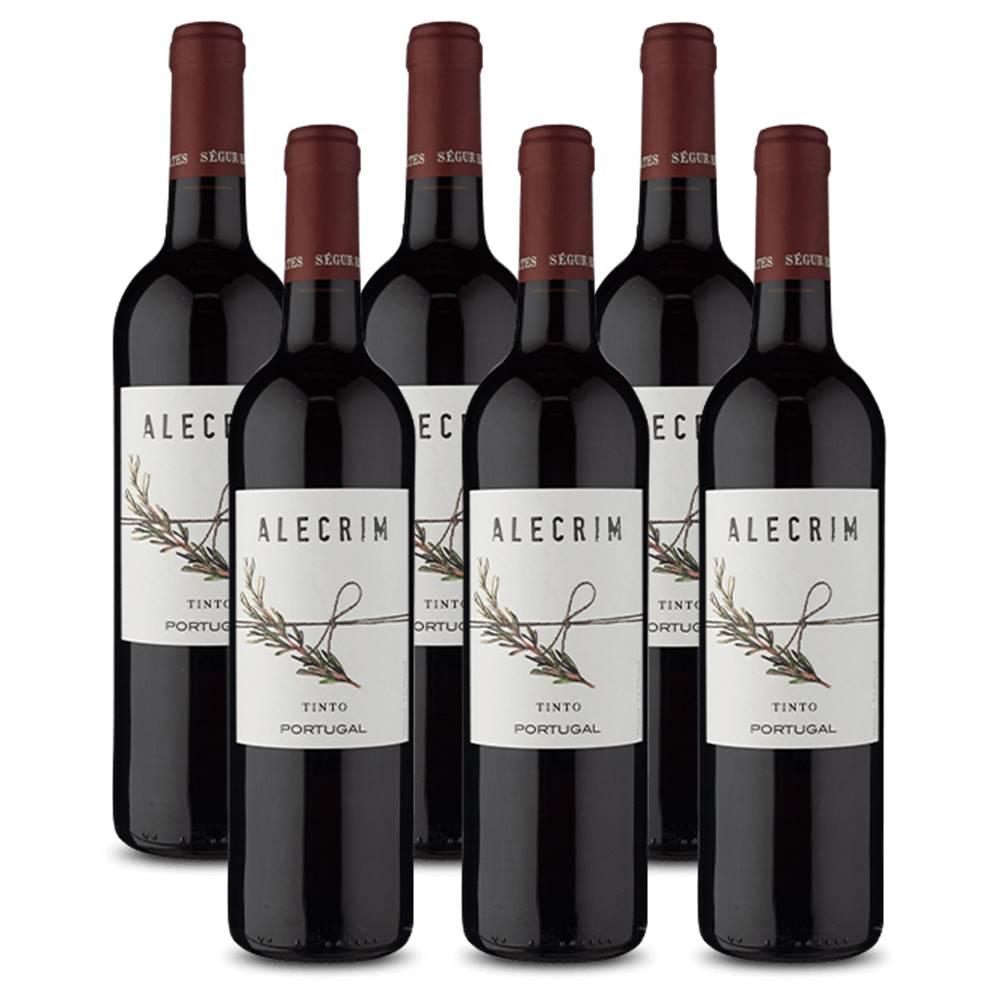 Kit 06 Unidades Vinho Alecrim Tinto 750ml