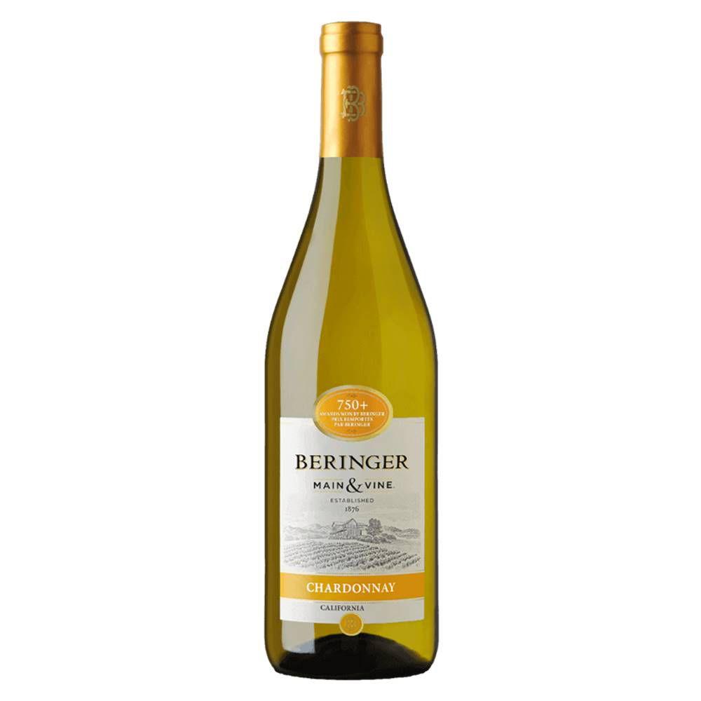 Kit 06 Unidades Vinho Beringer Chardonnay 750ml