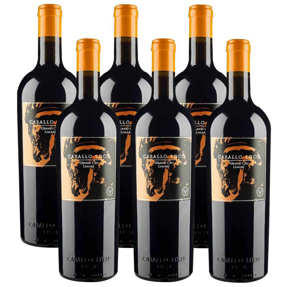 Kit 06 Unidades Vinho Caballo Loco Grand Cru Limari 750ml