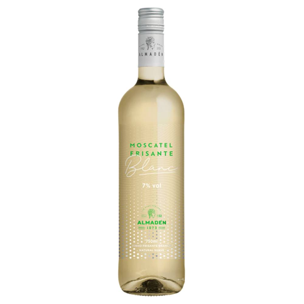 Kit 06 Unidades Vinho Frisante Almadén Moscatel Blanc 750ml