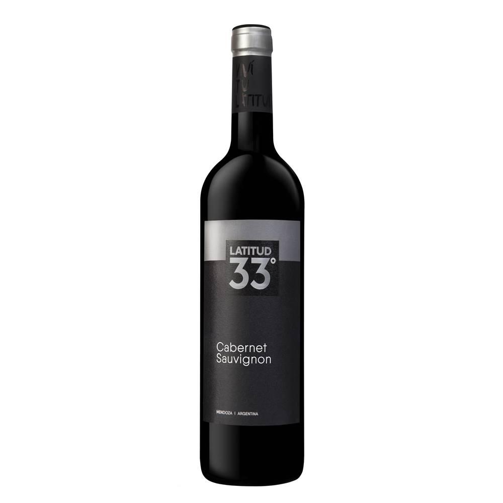 Kit 06 Unidades Vinho Latitud 33 Cabernet Sauvignon 750ml
