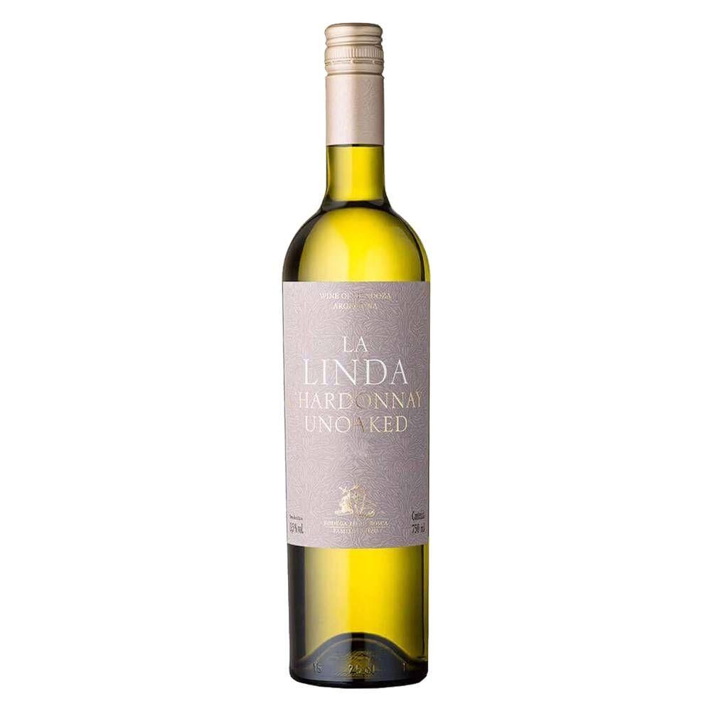 Kit 06 Unidades Vinho Luigi Bosca La Linda Chardonnay 750ml