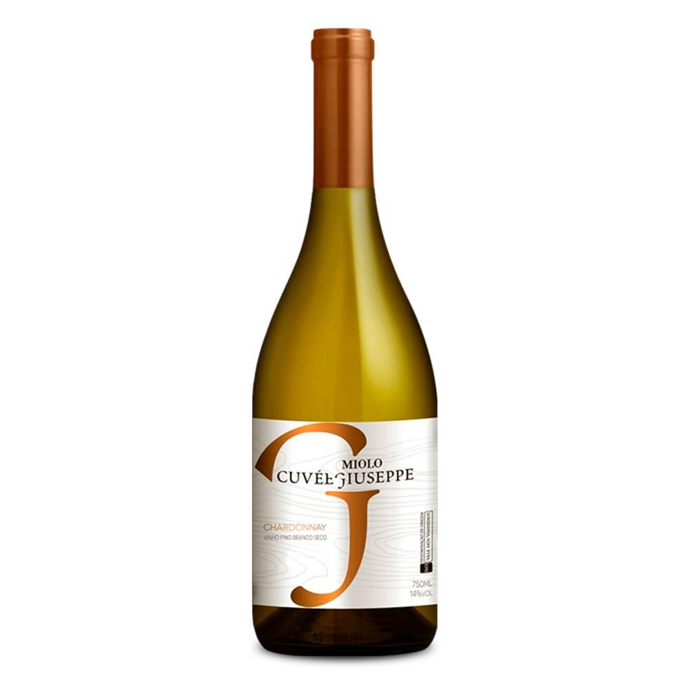 Kit 06 Unidades Vinho Miolo Cuvée Giuseppe Chardonnay 750ml