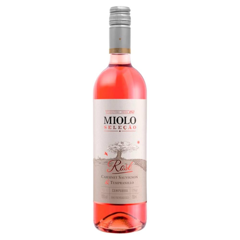 Kit 06 Unidades Vinho Miolo Seleção Rosé 750ml
