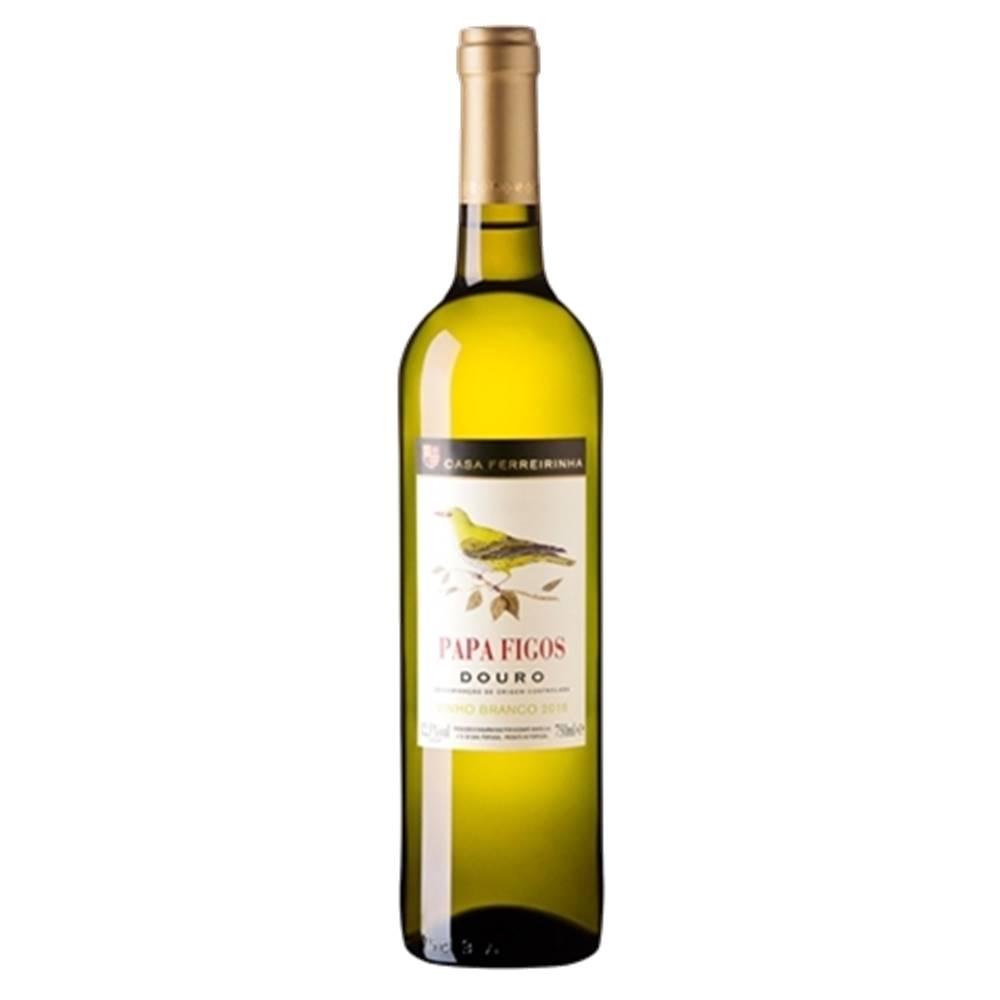 Kit 06 Unidades Vinho Papa Figos Branco Douro 750ml