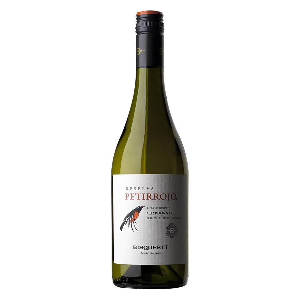 Kit 06 Unidades Vinho Petirrojo Reserva Chardonnay 750ml