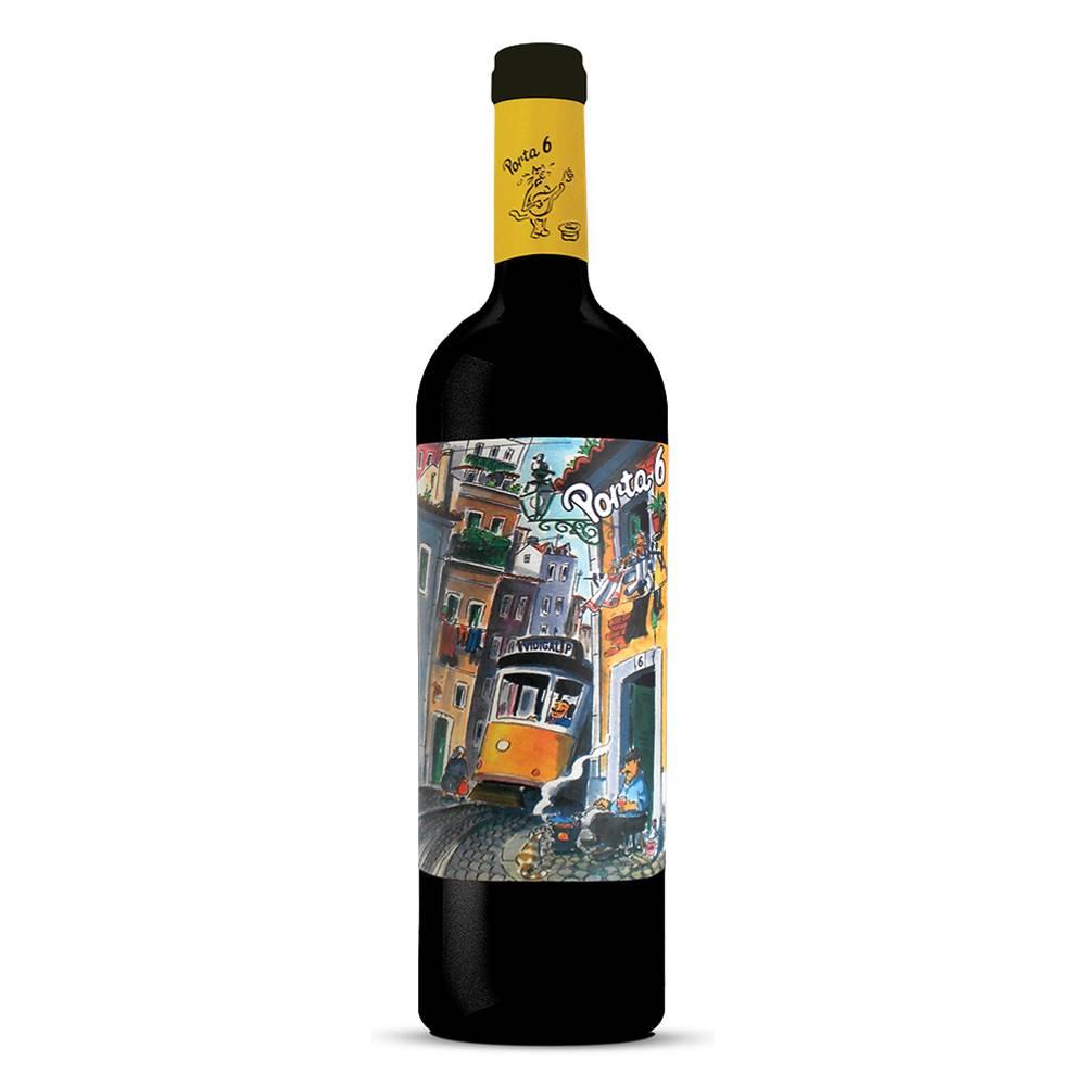 Kit 06 Unidades Vinho Porta 6 Tinto 750ml