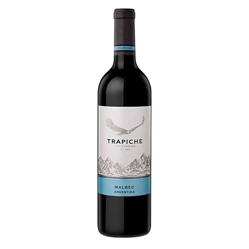 Kit 06 Unidades Vinho Trapiche Vineyards Malbec 750ml
