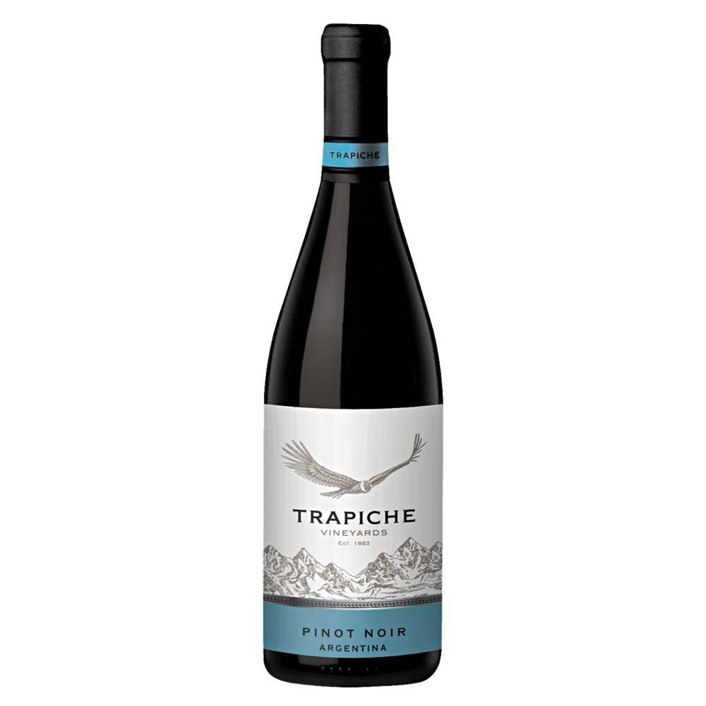 Kit 06 Unidades Vinho Trapiche Vineyards Pinot Noir 750ml