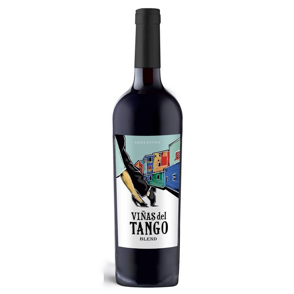 Kit 06 Unidades Vinho Vinas Del Tango Blend 750ml