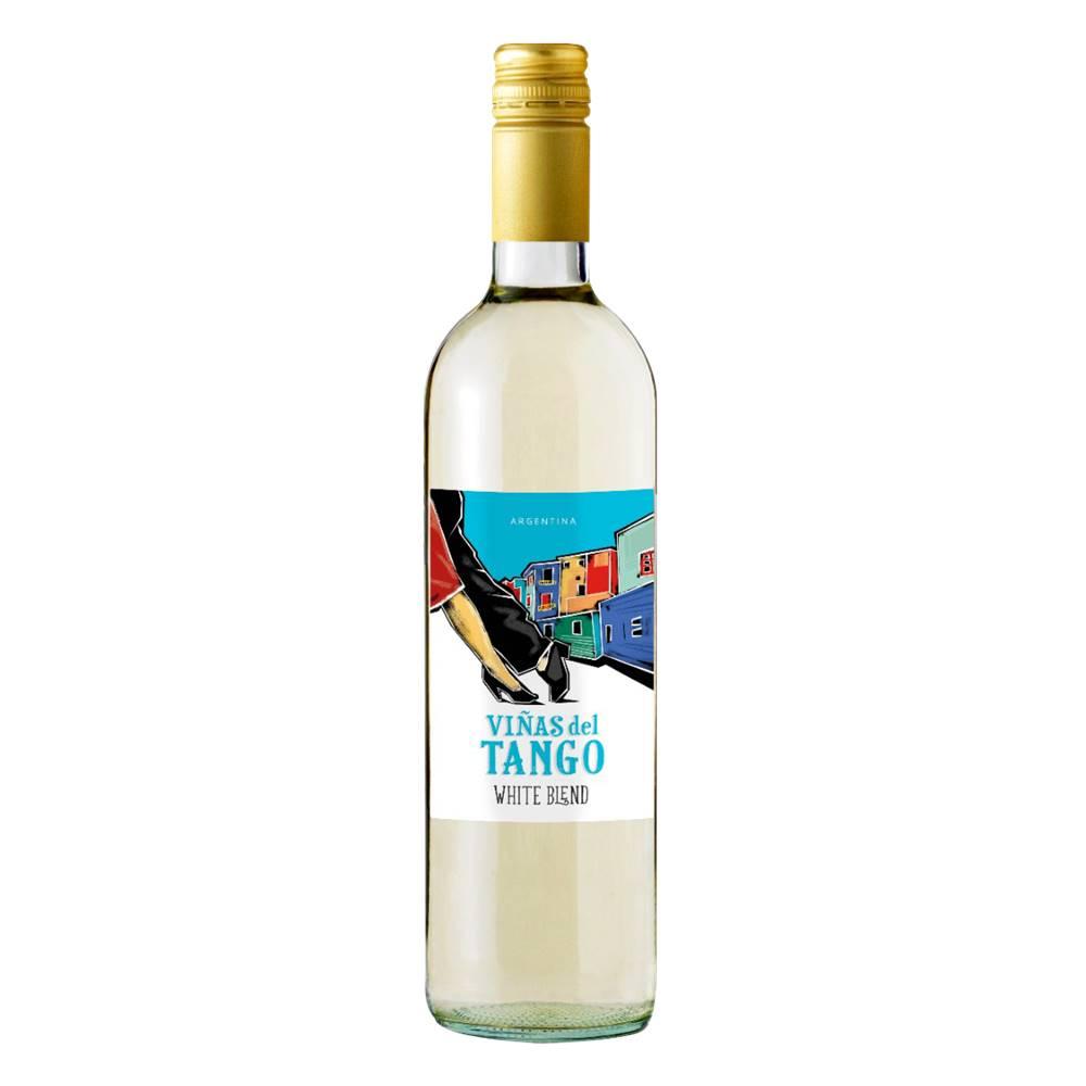 Kit 06 Unidades Vinho Vinas Del Tango Branco Blend 750ml