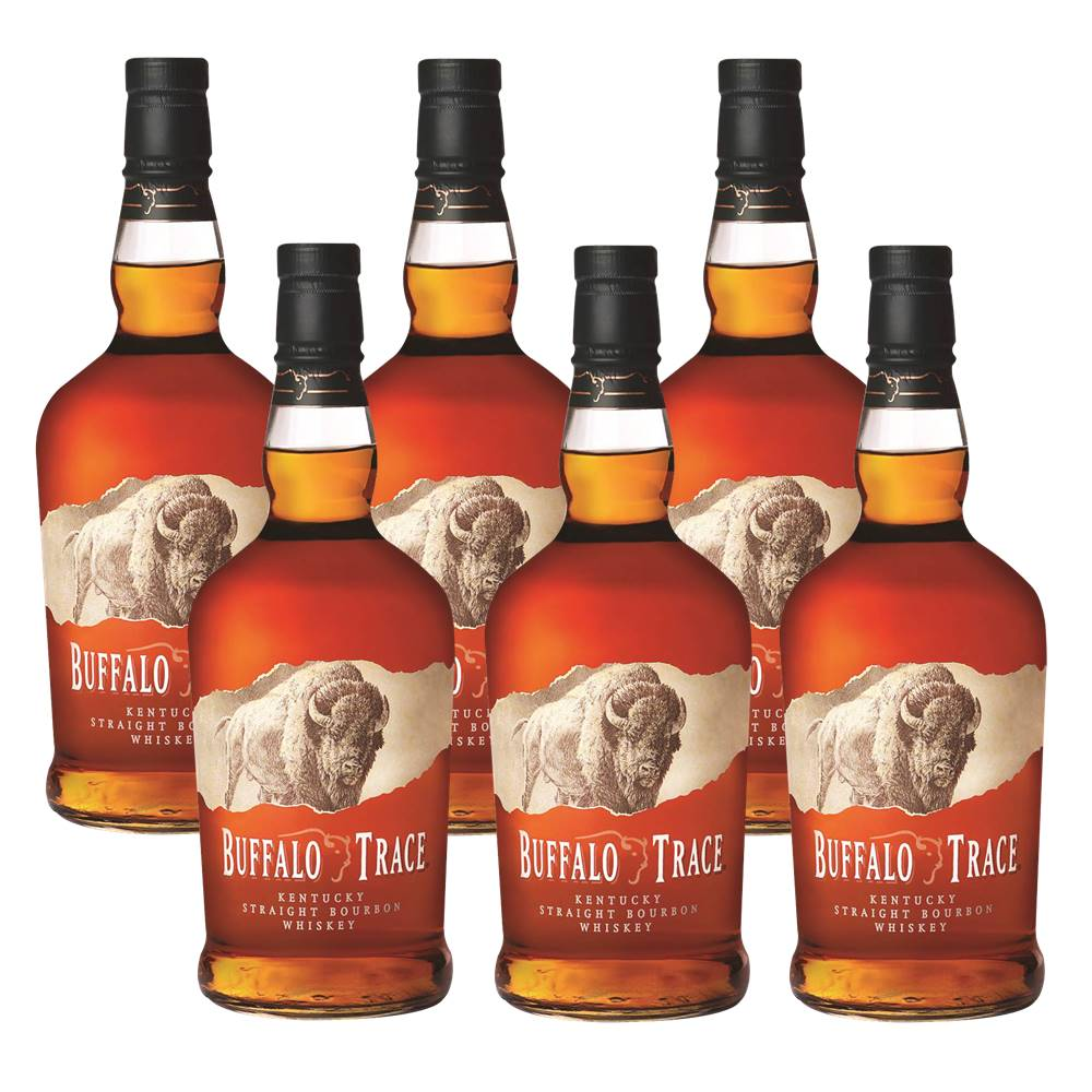 Kit 06 Unidades Whisky Buffalo Trace 750ml