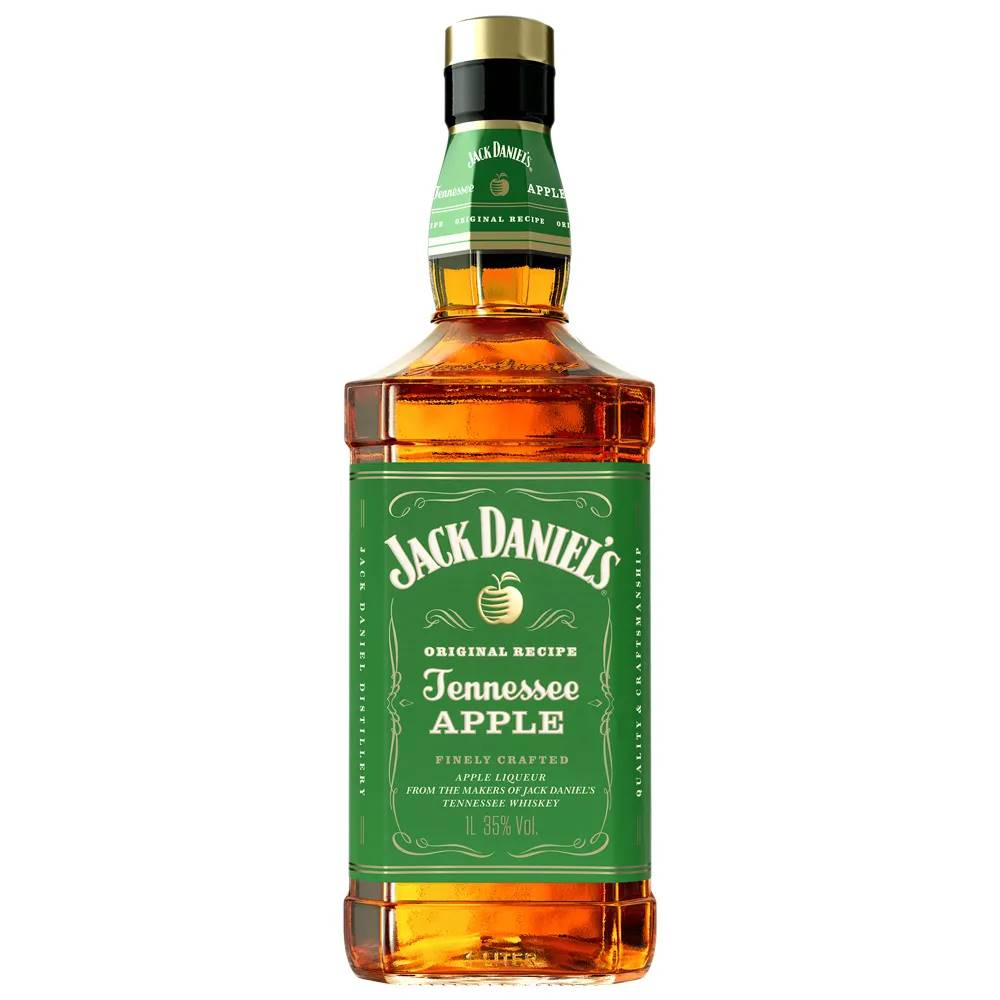 Kit 06 Unidades Whisky Jack Daniels Apple 1 Litro