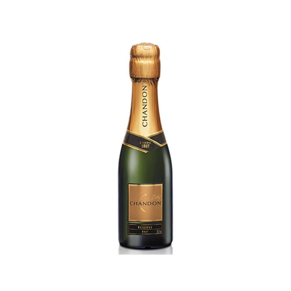 Kit 12 Unid. Mini Espumante Chandon Baby Réserve Brut 187ml