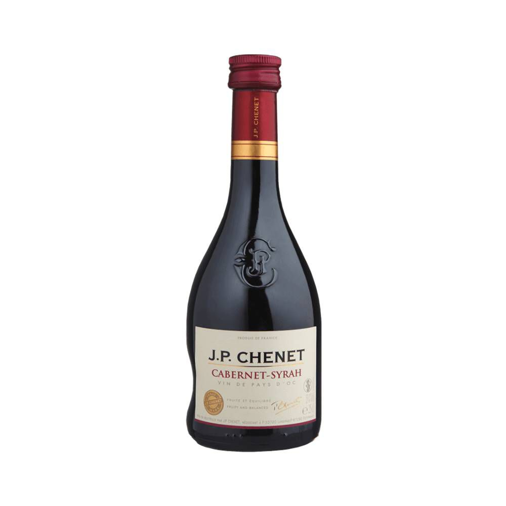 Kit 12 Unidades Vinho JP Chenet Cabernet-syrah 250ml