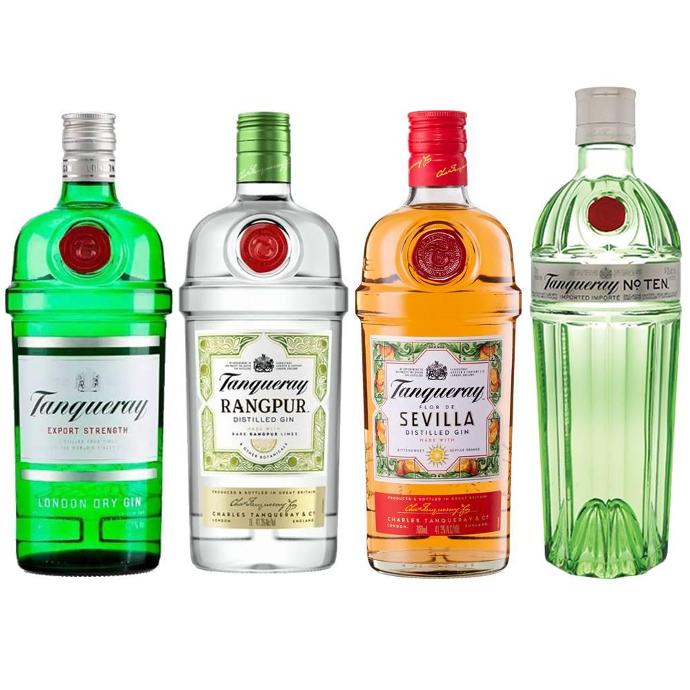 Kit Gin Tanqueray London Dry + Rangpur + Sevilla + No. Ten