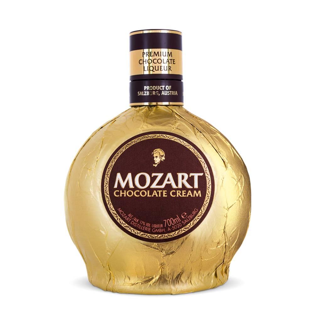 Kit Licor Mozart Dark Chocolate + Chocolate Cream 700ml