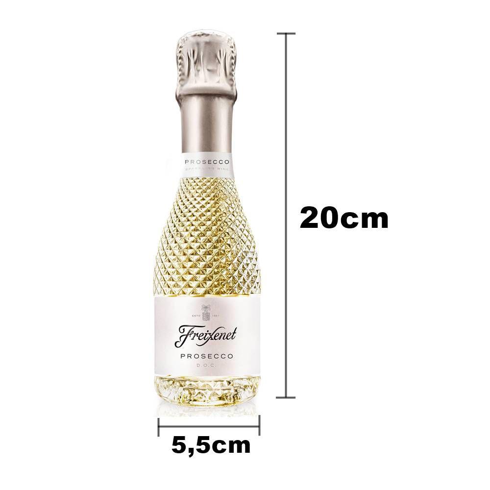 Kit Mini Espumante Freixenet 12un Prosecco + 12un Rosé 200ml