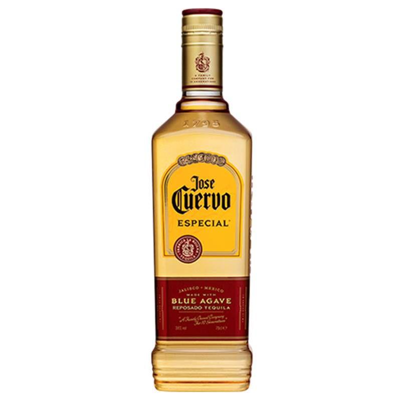 Kit Tequila Jose Cuervo Ouro 750ml e Margarita Morango 1 Lt