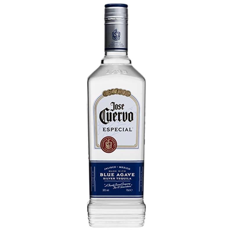 Kit Tequila Jose Cuervo Prata 750ml e Margarita Morango 1 Lt