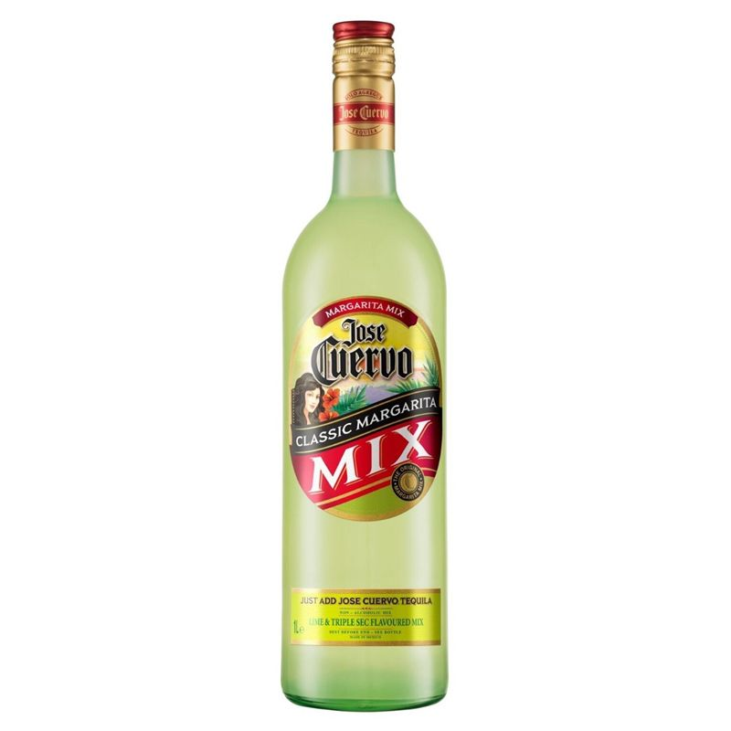 Kit Tequila Jose Cuervo Prata 750ml + Margarita Mix 1 Lt