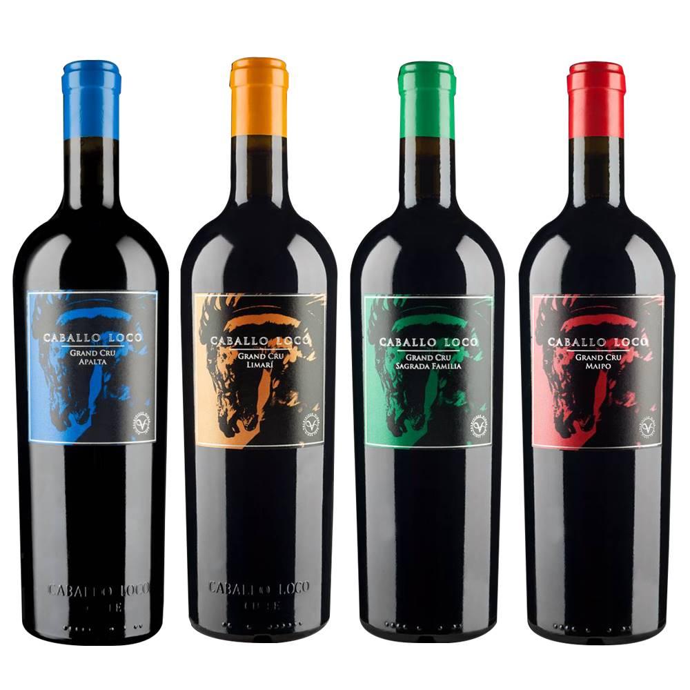 Kit Vinhos Vinho Caballo Loco Grand Cru 04 Unidades