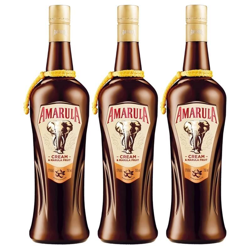 Licor Africano Amarula 750ml 03 Unidades