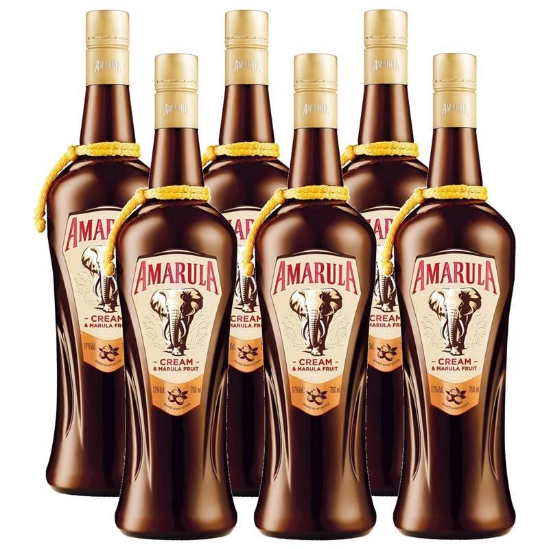 Licor Africano Amarula 750ml 06 Unidades