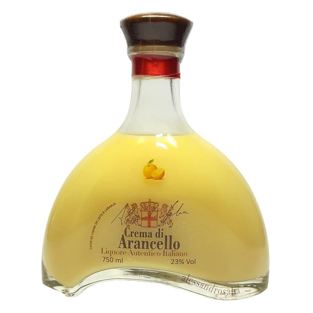 Licor Alessandrosaba Crema di Arancello 750ml