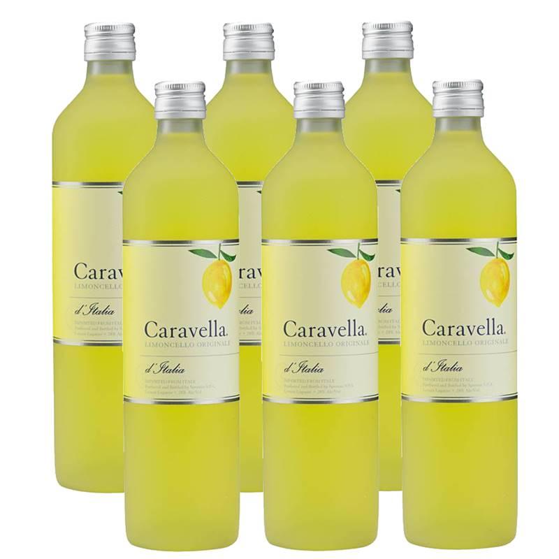 Licor Caravella Limoncello Limão 750ml 06 Unidades