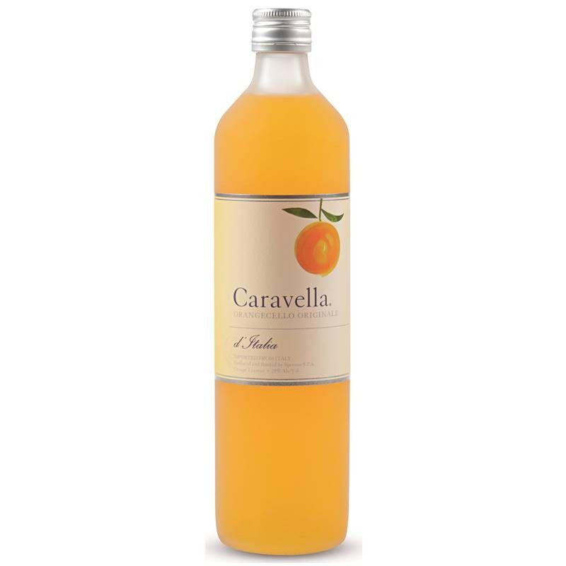 Licor Caravella Orangecello Laranja 750ml 03 Unidades